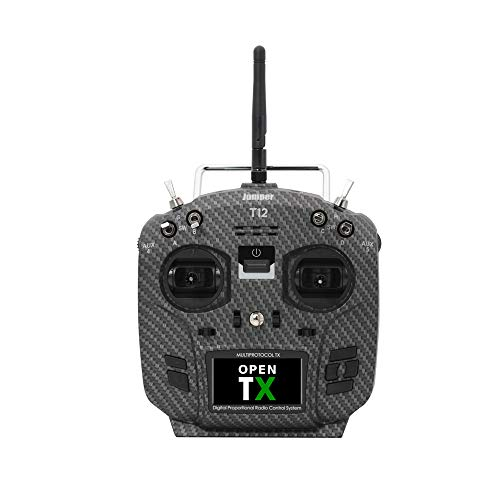Jumper T12 Pro Radio Transmitter Hall Gimbal OpenTX Multi-Protocol Transmitter, Internal Module Support TBS CRSF - Mode 2