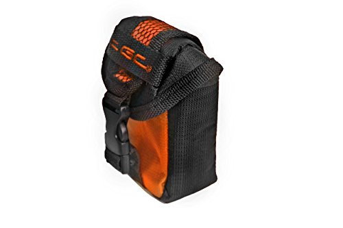 TGC Oranje & Zwart Camera Hoesje voor Compacte Polaroid X800E xs10 xs20 xs7 Camera's met Riem Loop + Foam Padding