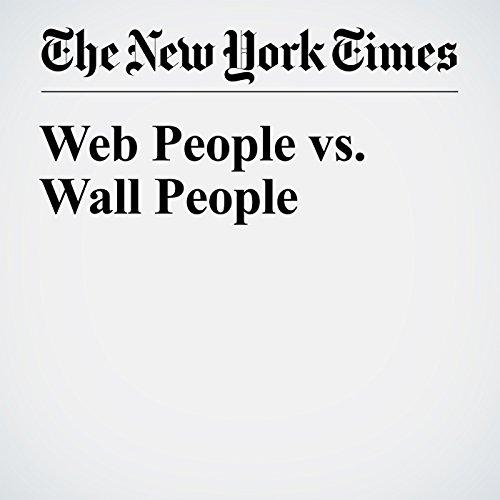 Web People vs. Wall People cover art