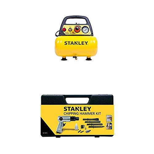 STANLEY Compressor DN200/8/6 + Pneumatic Hammer Kit