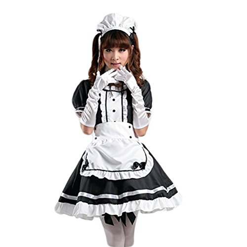 tzm2016 Anime Cosplay Costume French Maid Outfit...