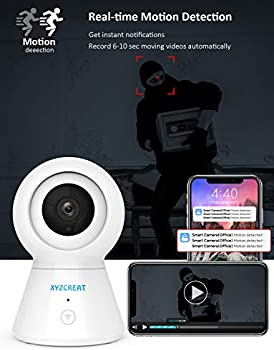 XYZCREAT 1080p Home Wireless Security Camera