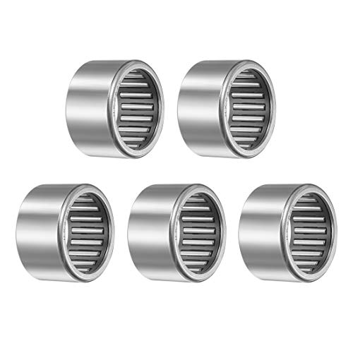 uxcell HK2820 Drawn Cup Needle Roller Bearings, Open End, 28mm Bore, 35mm OD, 20mm Width 32000N Static Load 18900N Dynamic Load 8700rpm Limiting Speed 5pcs