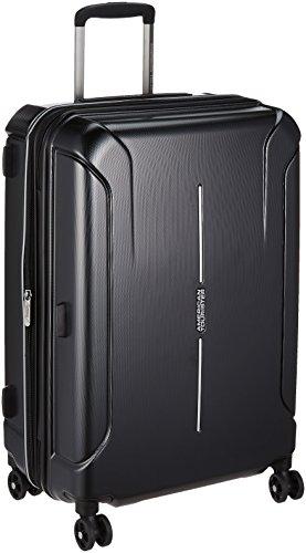 [アメリカンツーリスター] スーツケース キャリーケース テクナム スピナー 68/25 TSA エキスパンダブル 保証付 73L 68 cm 3.7kg ダイヤモンドブラック