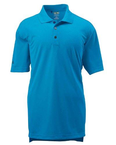 adidas Golf Mens Climalite Basic Short-Sleeve Polo (A130) -Coast -2XL