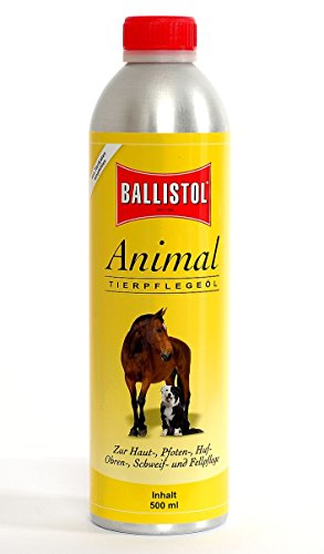 Jehn Ballistol-Animal, 500ml Kanister Tierpflegeöl, transparent