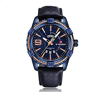 Naviforce 9117L BE-BE Analog For Men, Casual Watch