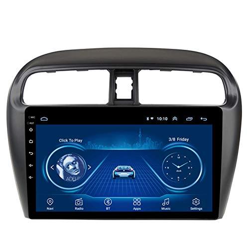 Android 10.0 8 Core Car stereo radio de navegación por satélite FM AM Autoradio 2.5D Pantalla táctil para Mitsubishi MIRAGE ATTRAGE 2012-2018 Navegador GPS Bluetooth WIFI GPS USB(Color:4G+WIFI 2G+32G)