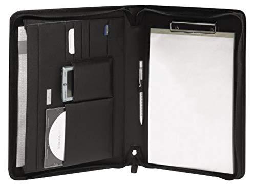 Bodenschatz Portafoglio / Notebook DIN A4 Nero