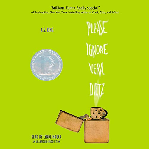 Please Ignore Vera Dietz audiobook cover art