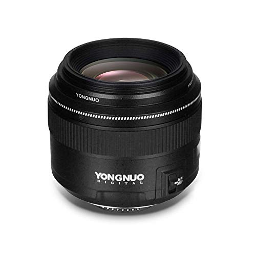 YONGNUO YN85mm F1.8N Teleobjetivo Medio Auto/Enfoque Manual para Nikon D7500 / D810 / D700...
