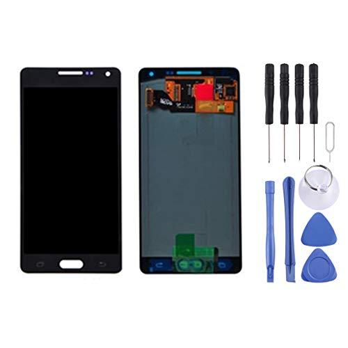 Smartphone eingebaute LCD-Bildschirm LCD-Bildschirm und Digitizer Full Assembly for Hou A5 / A500, A500F, A500FU, A500M, A500Y, A500YZ, A500F1, A500K, A500S, A500FQ (Weiß) (Farbe : Schwarz)