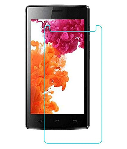 Timbu Edge to Edge Hammer proof screen guard 9H Hardness Anti Fingerprint Anti Glare 033mm HD+ view Crystal Clear Precusely Engineered Tempered Glass for Micromax A108 Canvas L