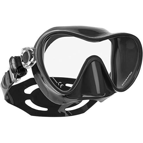 Scubapro Trinidad 3 - Máscara de buceo, color negro