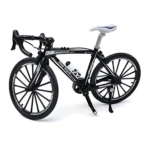 Pangyan Mini modello di bicicletta, giocattolo per le dita, in lega pressofusa, decorazione per mountain bike, modello curvo 1:10, per bambini e ragazzi