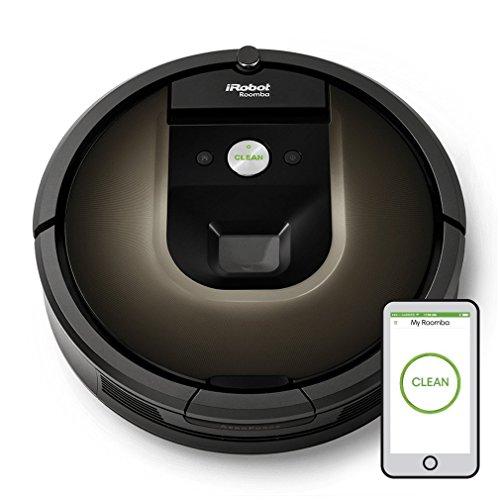 iRobot Roomba 980 aspirapolvere robot Senza sacchetto Nero, Cioccolato