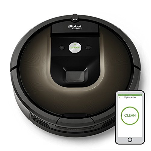 iRobot 900 Series Roomba 980 Vacuum Cleaning Robot (Black)