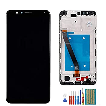 New LCD Display Compatible with Huawei Mate SE/Honor 7X BND-AL10 L21 L24 TL10  Huawei Logo  Assembly digitizer Black Display with Frame+ Tools