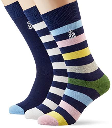 Hackett Herren HRR SCK SET Socken, Mehrfarbig (Multi 0aa), 43/44 (Herstellergröße: ML)