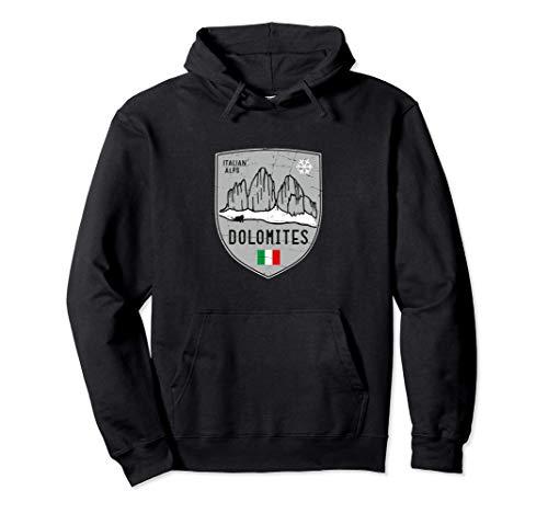 Tre Cimemontagna delle Dolomiti dell'Italia Felpa con Cappuccio