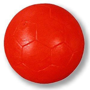 '5pezzi Kicker Ball Standard rosso, 34mm, peso veloce liscia 20Gr.