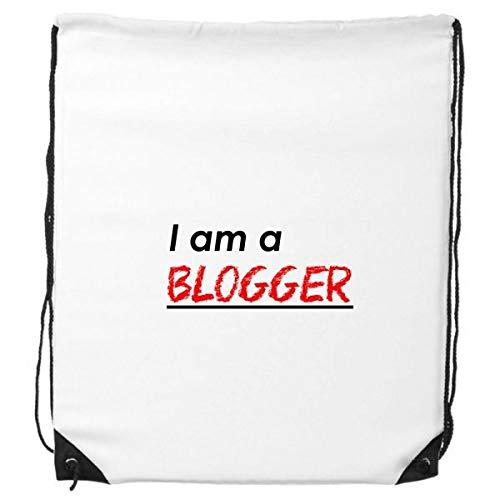 DIYthinker Zitat Ich Bin Ein Blogger-Rucksack Einkaufs Gift Sporttaschen