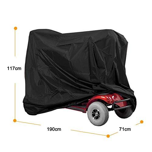 Scooter-Abdeckung, professionelle Abdeckung für Elektromobile, schützt vor Wetter und Staub, wasserdicht