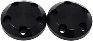 710-0900 Carbon S5 Frame Slider Replacement End Caps - Black - Two Caps Included - MADE IN THE USA