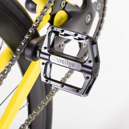 bonvelo Singlespeed Fixie Fahrrad Blizz Mellow Yellow (Large / 56cm für Körpergrößen von 170cm bis 181cm) - 4