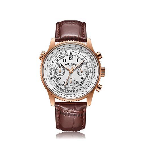 Rotary Reloj exclusivo para hombre Aquaspeed Pilot - GS00073/06B Nuevo