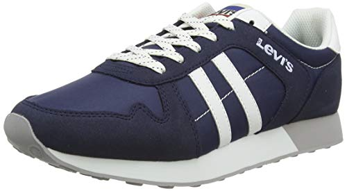 LEVIS FOOTWEAR AND ACCESSORIES Webb, Zapatillas para Hombre, Azul (Navy Blue 17), 42 EU