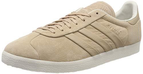 adidas Gazelle S&T, Zapatillas de Gimnasia Hombre, Beige (Pale Nude/Pale Nude/Off White 0), 36 2/3 EU