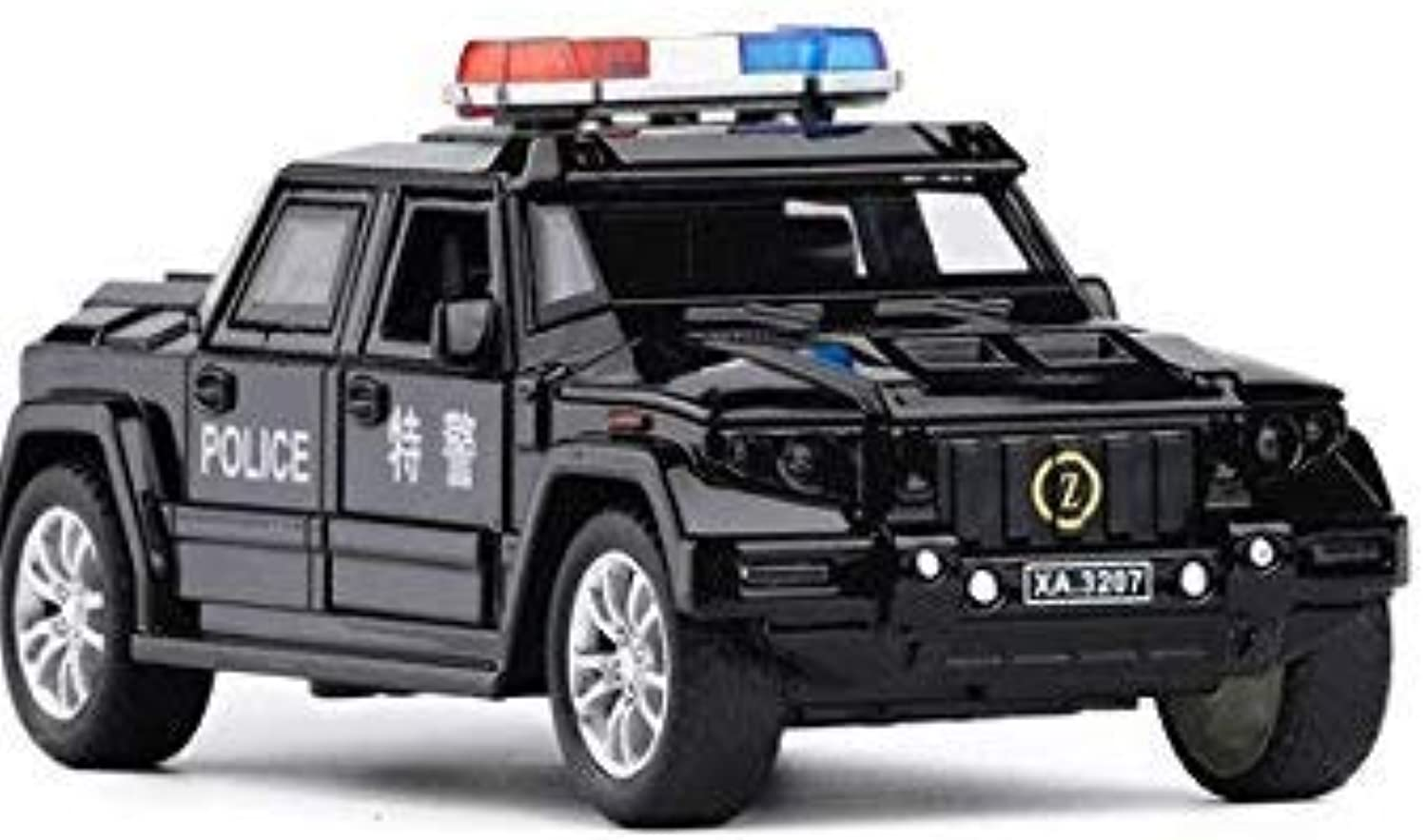 1 1 1 32 Scale Police Kaibahe War Shield Metal Toy Alloy Car
