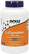 NOW® L-Carnitine, 1000 mg, 100 Tablets
