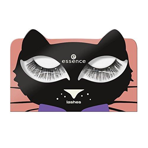 Essence Edition Bootiful Nights, 1 Paire de Faux cils, un tube de colle à cils, n°01 Hello queen & pumpking.