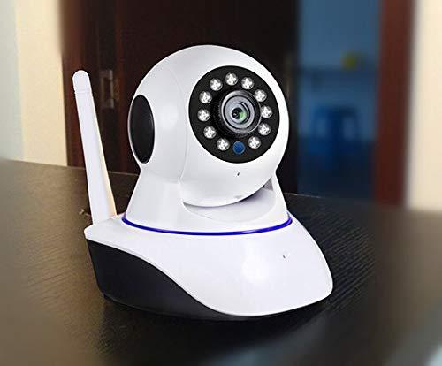 Shangying Cámara IP WiFi de visión Nocturna 720P 1080P Mini cámara de vigilancia CCTV de Seguridad inalámbrica para Interiores 1MP 2MP 1080p (incluida la Tarjeta SD 64G)