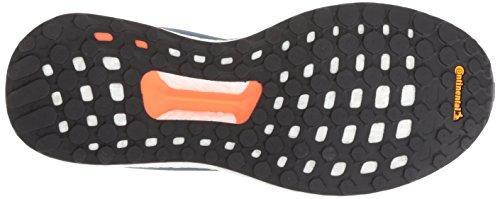 adidas Men's Solar Glide Running Shoe, Legend Ink/White/Aqua, 9 M US