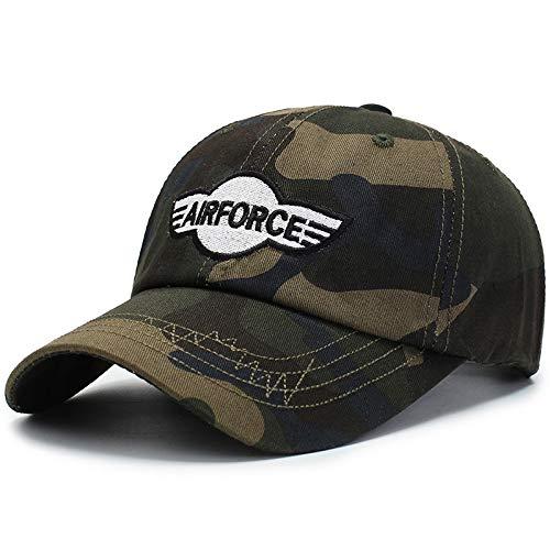 wtnhz Modische Kleidungsstücke Outdoor militärische Ausbildung Sonnenschutz Sonnenschutz Kappe Mode Sport Baseball Kappe Geschenk