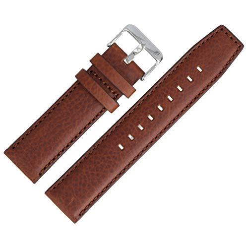 Tommy Hilfiger Uhrenarmband 22mm Leder Braun - 679301819