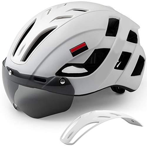 Grseme Casco de Bicicleta para Adultos, Cascos de Bicicleta Ligeros Ajustables para...