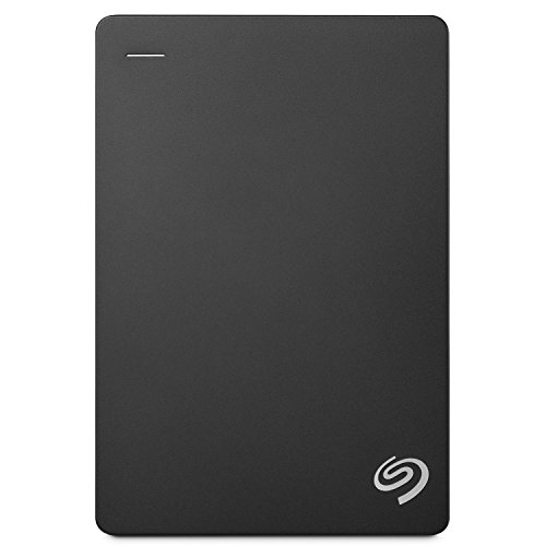 Seagate 5 TB Backup Plus USB 3.0 Portable 2.5 Inch External Hard Drive for PC and Mac with 2 Months Free Adobe Creative Cloud Photography Plan - Black