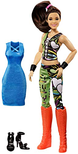 Mattel WWE Girls GCJ46 Superstar-Outfits Bayley