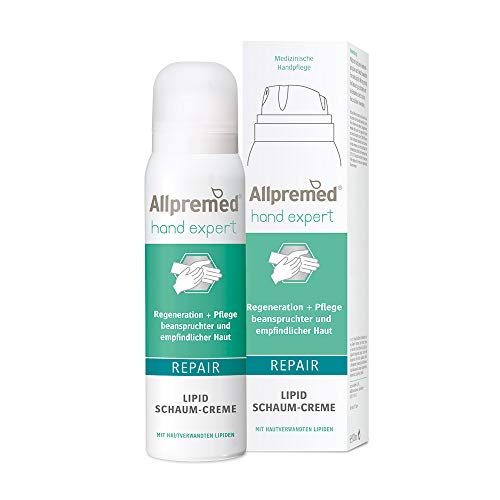 Allpremed hand expert Lipid Schaum-Creme REPAIR,100ml