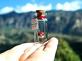 ''POKEBALL'' Te elijo a ti. Mensaje en una botella. Miniaturas. Regalo personalizado. Divertida postal motivación.
