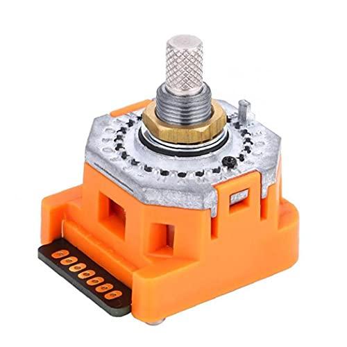 Selector de banda del interruptor 24 Posiciones NDN-01J Rotary Code sistema binario digital impermeable cambiar de Industria, componentes de control industrial