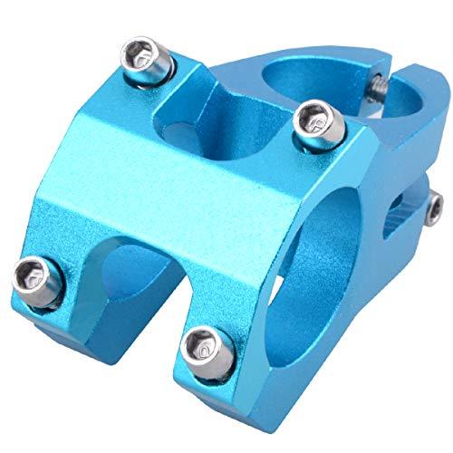 TRIWONDER Fahrrad Vorbau 31.8 32mm 40mm 90mm, Lenker Vorbau Fahrradlenker Vorbau für Fahrrad BMX MTB Rennrad (31.8 x 40mm - Ⅰ - Blau)