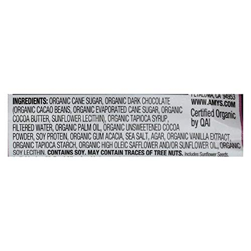 Amys Organic Vegan Dreamy Candy Bar, 1.3 Ounce - 12 per case.