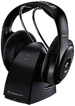 Sennheiser RS-127 - Auriculares (supraaurales, Diadema, 20-20500 Hz, alámbricos/inalámbricos, RF, 21h, Color Negro)