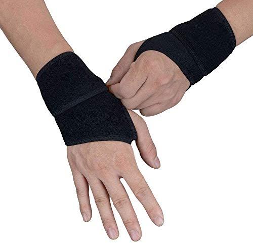 Libershine (2er-Set) Verstellbare Handgelenkstütze, Atmungsaktives Handgelenkband, Damen und Herren, Wrist Wraps für Sport, Fitness, Krafttraining, Bodybuilding