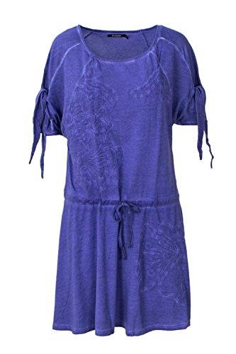 Desigual Kurzes Kleid Woman Weste Fatima 18SWVKAX l Violett